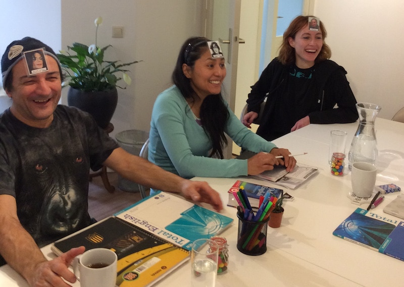 Experience students Language Corner